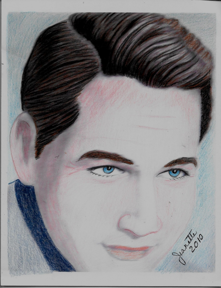 Paul Newman by Jeanette